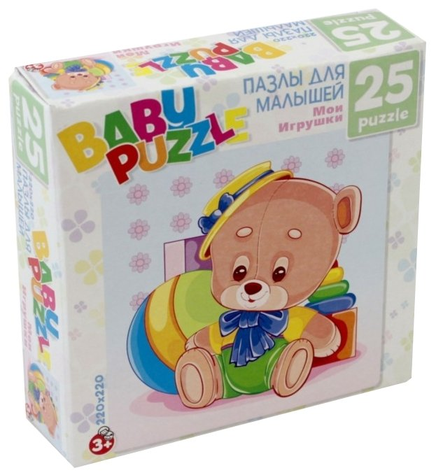Пазл Origami Astrel Мои игрушки Медведь (6253), 25 дет.