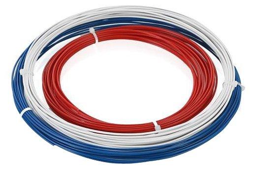 ABS пруток ESUN 1.75 мм 3 цвета (красный, белый, синий)