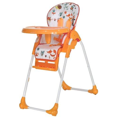 Купить Стульчик для кормления everflo Forest Q35 orange, Стульчики для кормления