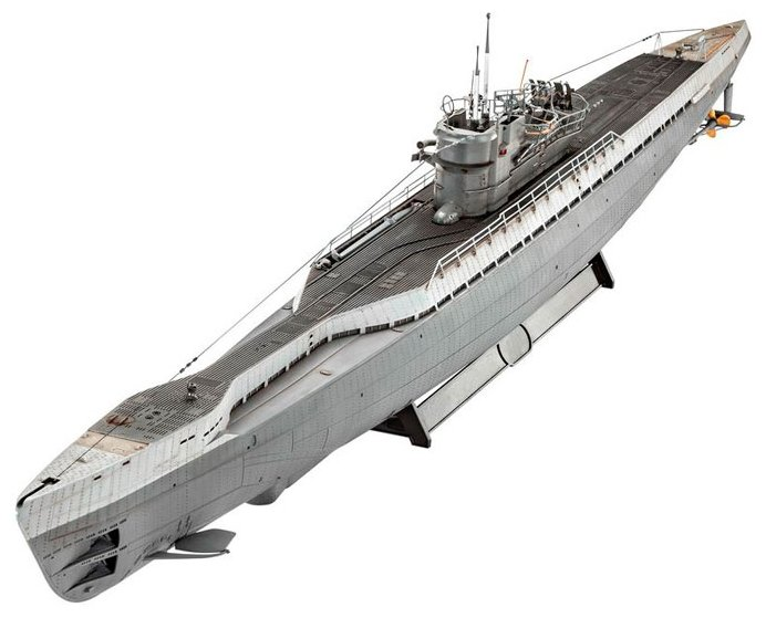 05133 Revell 1/72 German Submarine TYPE IX C/40 (U190)