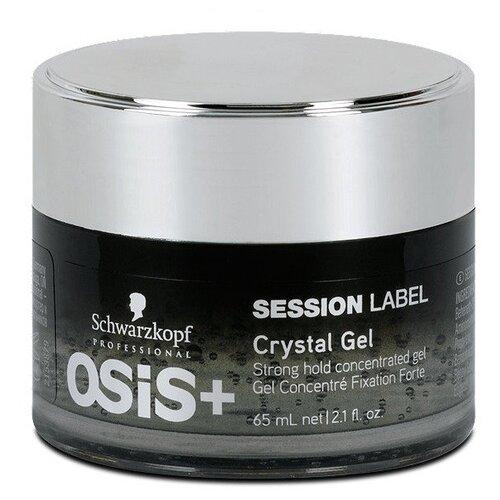 OSiS+ Session Label гель для радикальных текстур и сильной фиксации Crystal Gel, 65 мл цена 2017