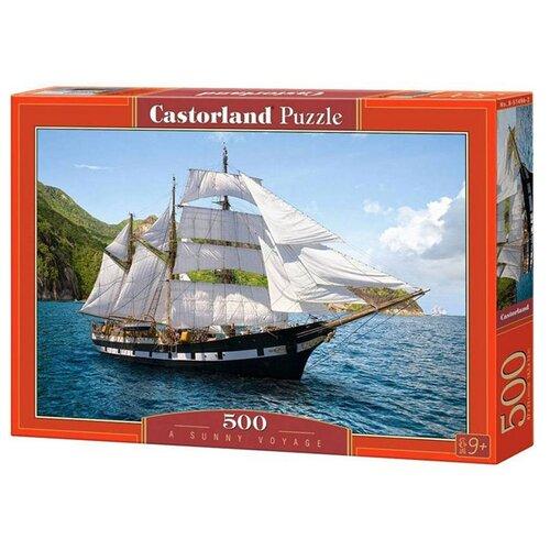 Пазл Castorland A Sunny Voyage (B-51496), 500 дет., Пазлы  - купить со скидкой
