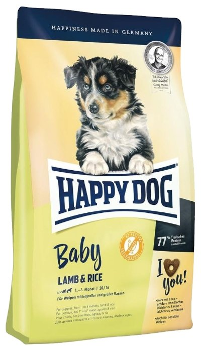 Корм для собак Happy Dog Baby Lamb&Rice