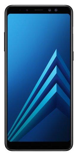 Смартфон Samsung Galaxy A8+ (2018) (SM-A730F) Black Черный