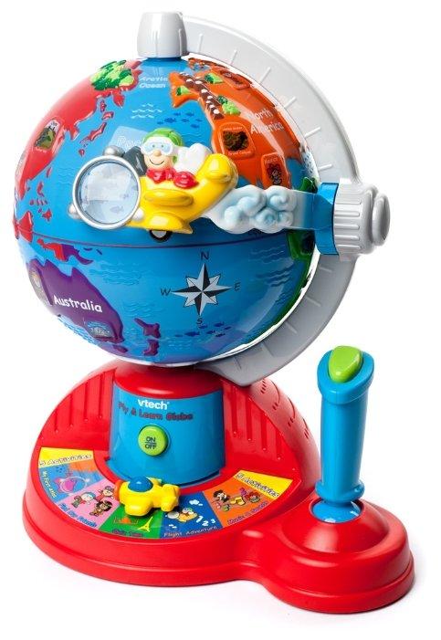 Интерактивная развивающая игрушка VTech Обучающий глобус
