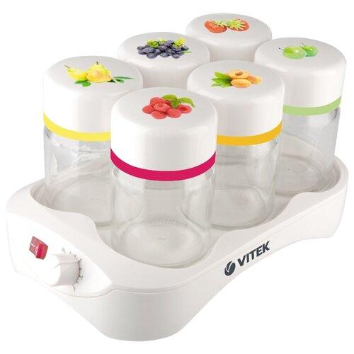 Йогуртница VITEK VT-2600/2601 белый