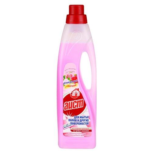 Аист Средство для мытья полов и других поверхностей Лепестки розы в белую ночь 0.95 лДля мебели, ковров и напольных покрытий<br>
