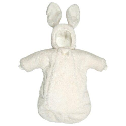Комбинезон-конверт Сонный Гномик Кролик 1908 молочныйТеплые комбинезоны<br>