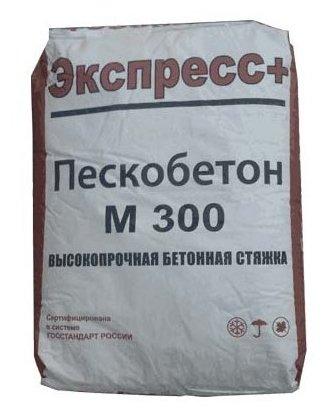 Пескобетон Экспресс+ М-300, 40 кг
