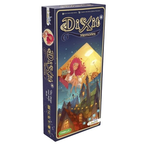 Купить Дополнение для настольной игры Asmodee Dixit 6: Memories, Настольные игры
