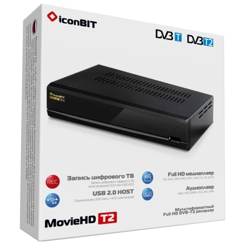 Медиаплеер iconBIT MovieHD T2