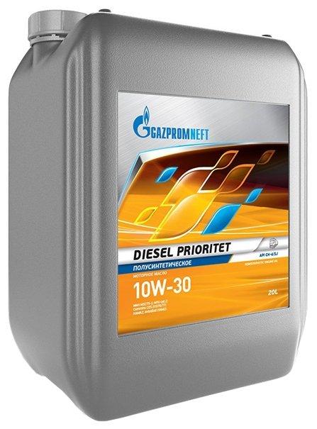 Моторное масло Газпромнефть Diesel Prioritet 10W-30 20 л