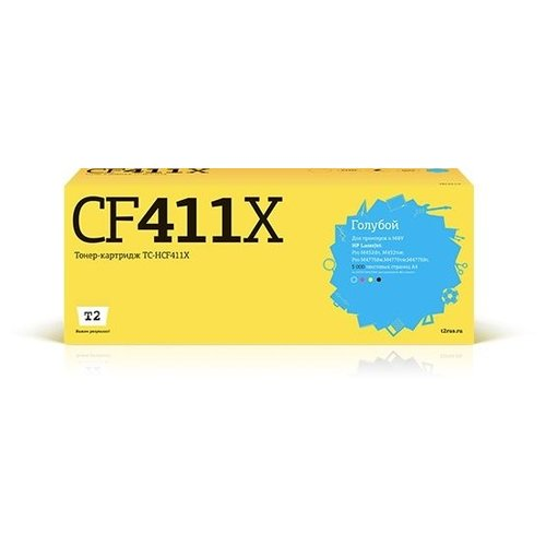 Фото - Картридж T2 TC-HCF411X, совместимый картридж t2 tc k170 совместимый