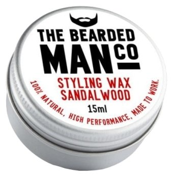 The Bearded Man Company Воск для усов Sandalwood