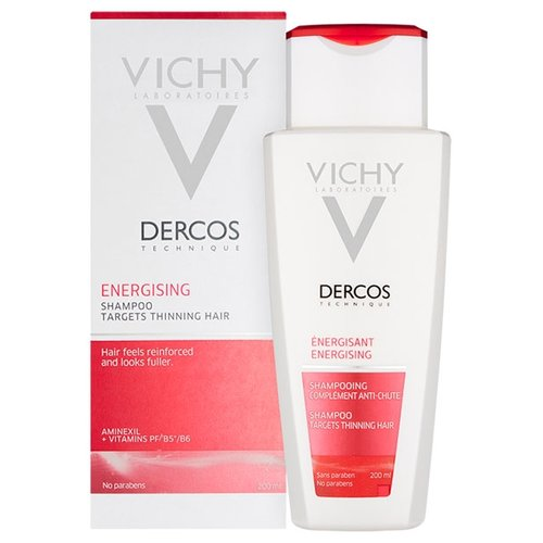 Vichy шампунь Dercos Energising 200 мл dercos