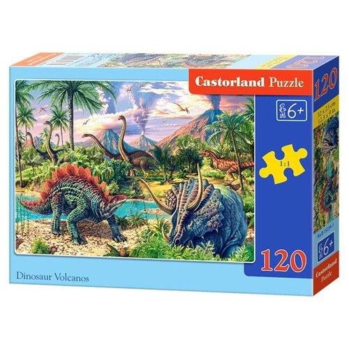 Купить Пазл Castorland Dinosaur Volcanos (B-13234), 120 дет., Пазлы