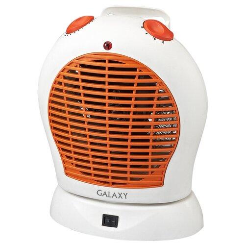 Тепловентилятор Galaxy GL8175 белый/оранжевый