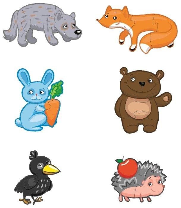 Набор пазлов Десятое королевство Лесные животные (01297)