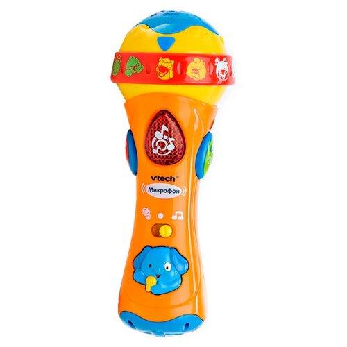 цена VTech микрофон 80-078726 оранжевый/желтый/синий онлайн в 2017 году