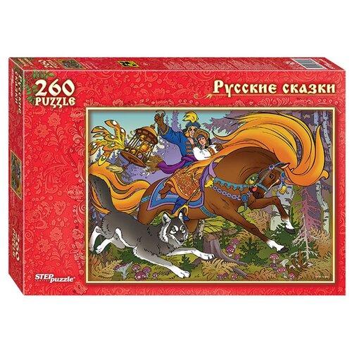 Пазл Step puzzle Иван-царевич и Серый Волк (74064), 260 дет.