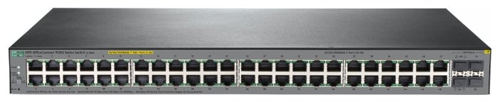 Коммутатор Hewlett Packard Enterprise OfficeConnect 1920S 48G 4SFP (JL382A)