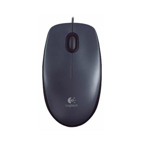 Мышь Logitech M90, черный аксессуары для компьютера logitech мышь m90