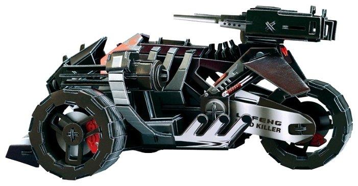 3D-пазл Zilipoo 3D Мотоцикл будущего (T-001), 125 дет.