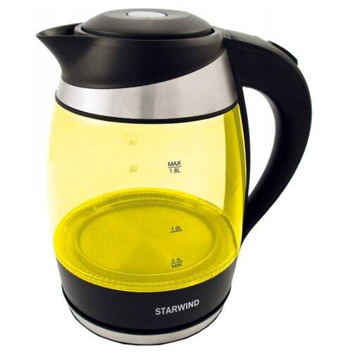 Чайник STARWIND SKG2215, желтый чайник starwind skg2213 зеленый