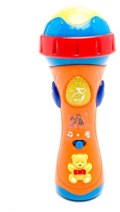 Играем вместе микрофон Маша и Медведь 838-31