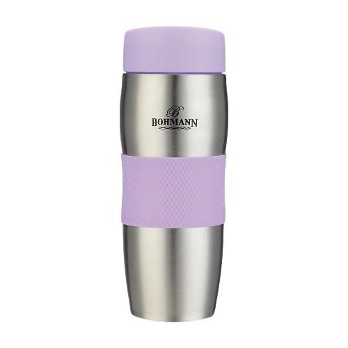 Термокружка Bohmann ВН-4456, 0.375 л фиолетовый