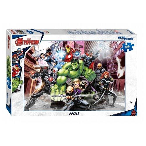 Купить Пазл Step puzzle Marvel Мстители - 3 (97061), 560 дет., Пазлы