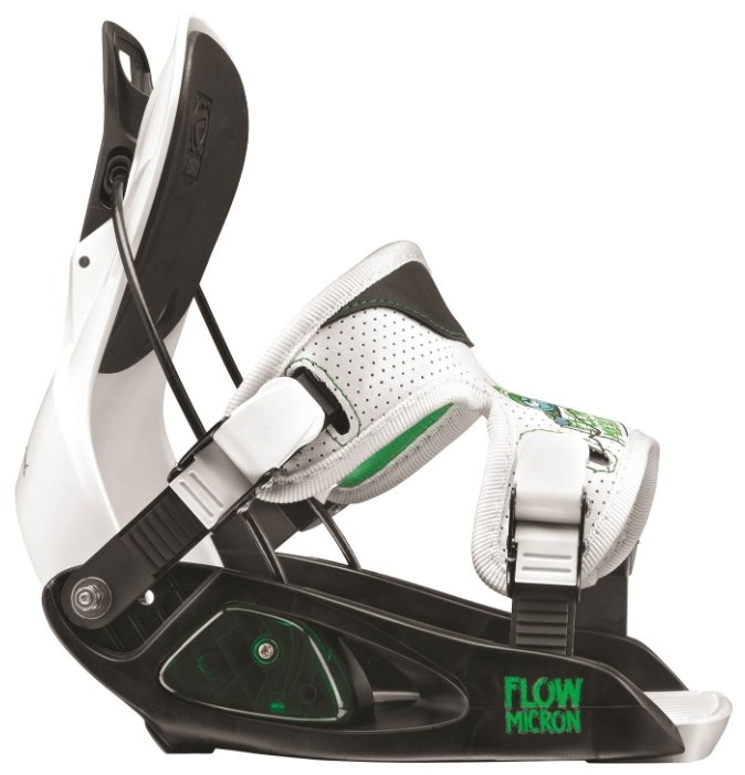 Крепления для сноуборда Flow 13-14 Micron Black/White - S