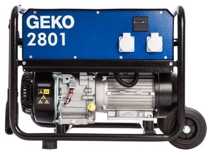 Бензиновая электростанция Geko 2801 E-A/SHBA