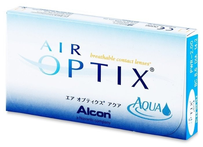 Air Optix (Alcon) Aqua (3 линзы)