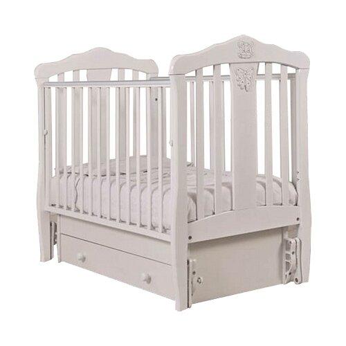 Кроватка Гандылян Доминик (классическая), универсальный маятник белый кроватка гандылян даниэль классическая универсальный маятник белый