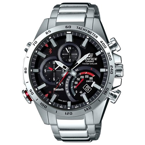 Часы CASIO EDIFICE EQB-501XD-1A серебристый casio eqb 700l 1a