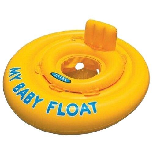 Купить Надувные водные ходунки Intex My Baby Float 56585 желтый, Надувные игрушки