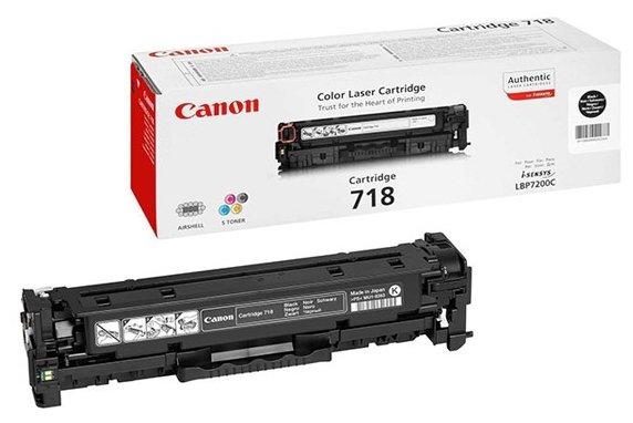 Картридж Canon 718BK (2662B002)