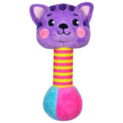 Купить Погремушка Жирафики Котик 939513 фиолетовый, Погремушки и прорезыватели