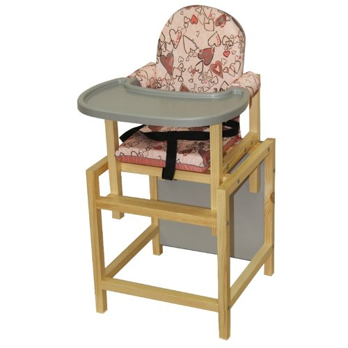 Купить Стульчик-парта ВИЛТ СТД 07, розовый/серый, Стульчики для кормления
