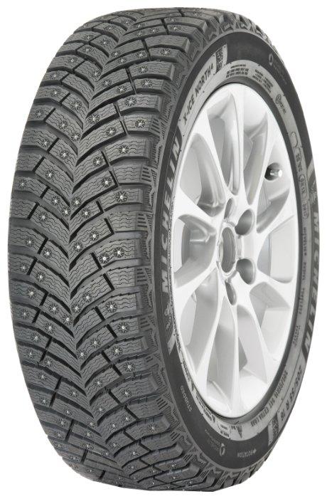 Автомобильная шина MICHELIN X-Ice North 4 225/45 R19 96T зимняя шипованная