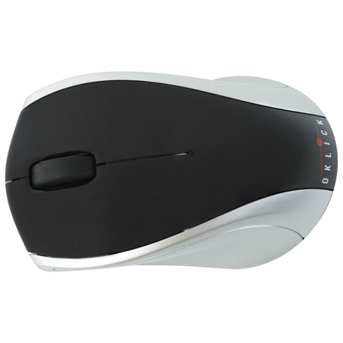 Мышь Oklick 540SW Wireless Optical Mouse Black-Silver USB