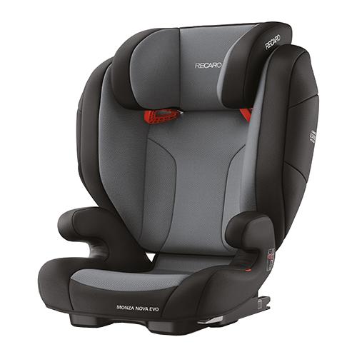 цена на Автокресло группа 2/3 (15-36 кг) Recaro Monza Nova Evo Seatfix, Carbon Black