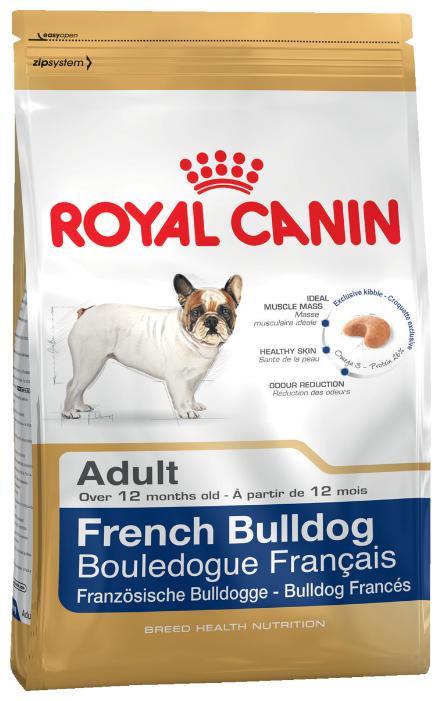 Корм для собак Royal Canin Французский бульдог для здоровья кожи и шерсти 4 кг