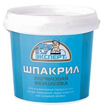 Шпатлевка Эксперт Шпакрил — купить по выгодной цене на Яндекс.Маркете