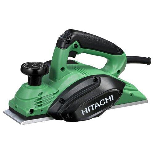 Электрорубанок Hitachi P20ST зеленый/черный
