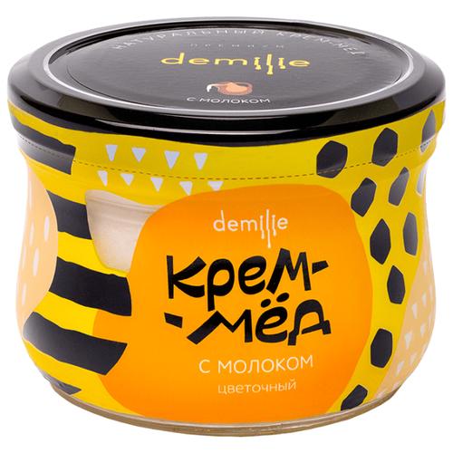 Крем-мед Demilie с молоком 250 млМед и продукты пчеловодства<br>