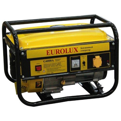 Бензиновый генератор Eurolux G4000A (3000 Вт) eurolux аполлония 180х90 с ножками