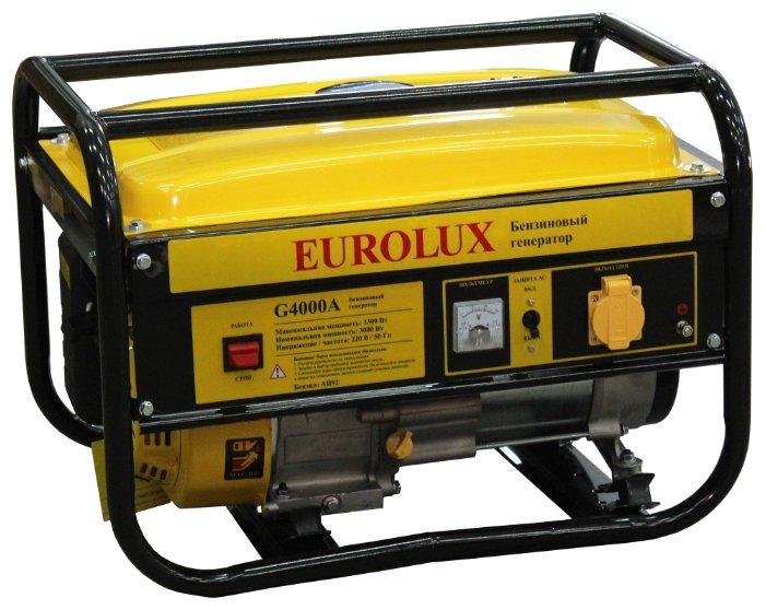 Бензиновый генератор Eurolux G4000A (3000 Вт)