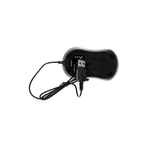 Мышь A4Tech D-321 Holeless mouse Black USB